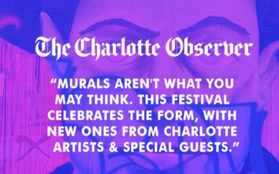 "Charlotte Observer: ""What's Talking Walls?"""